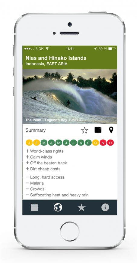 Surf Travel Planner App