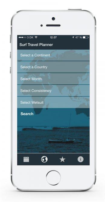 Surf Travel Planner App