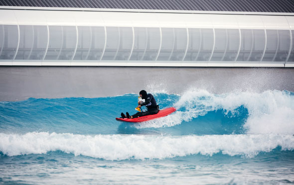 The Wave adaptive surfer
